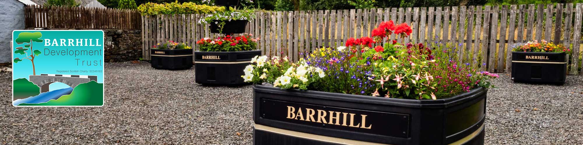 Barrhill in bloom header
